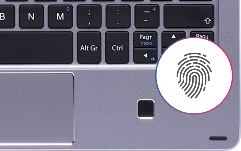 tastaturen mit finger zeigen ( tastatur)